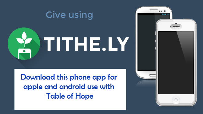 tithely phone app note